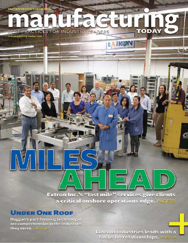 Manufacturing Today Article Extron Feature