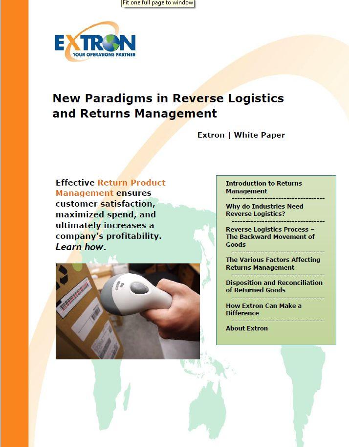 Demo Loan Program Management – Extron Inc