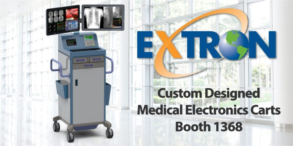 Extron Inc to showcase innovative, customizable carts for medical electronics at MD&M West